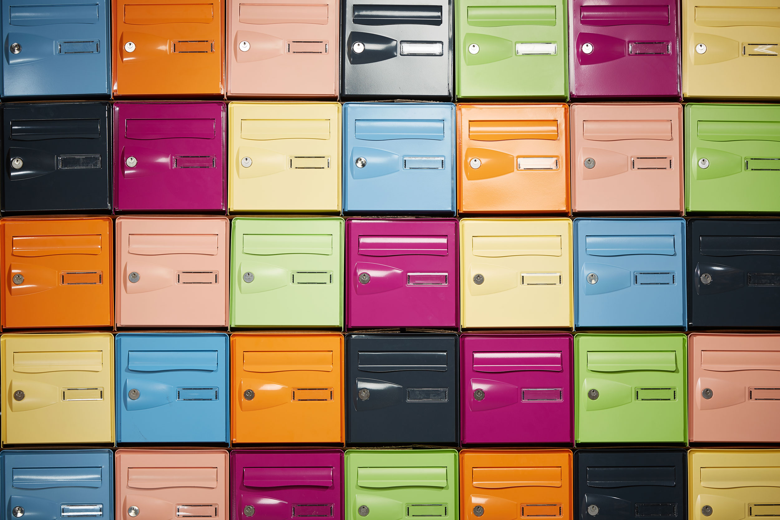 Comment fonctionnent les boîtes aux lettres collectives